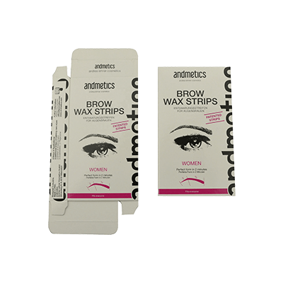 Custom Printed Skincare Wax Strips Boxes & Packaging Design (1)