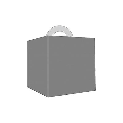 Cube Shaped Carrier Mockup