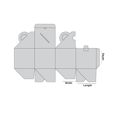 Cube Shaped Carrier Template