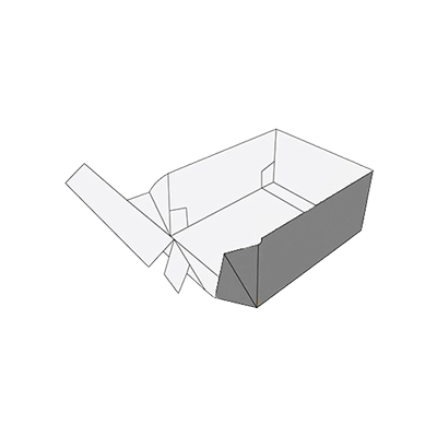 Double Wall Tray Box Packaging