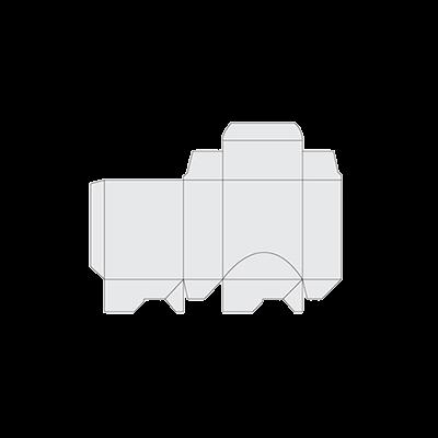 Dispenser Box Template