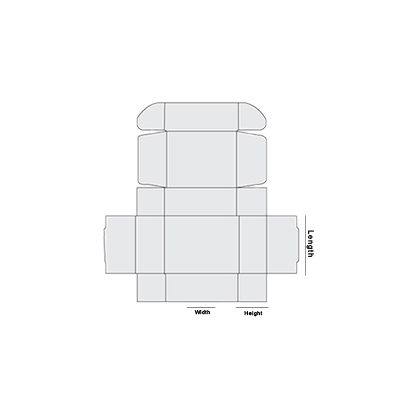 Double Wall Tuck Front Template