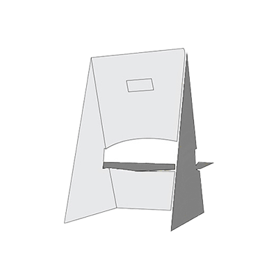 Easel Display Stand Box Packaging