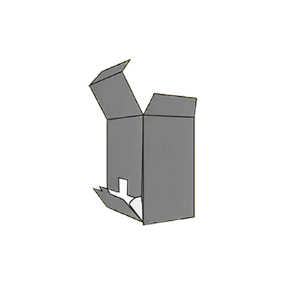 Flip Out Open Dispenser Box Mockup