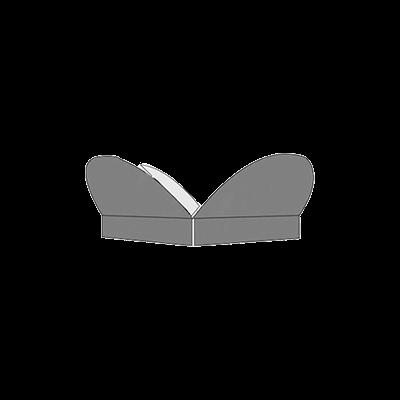 Half Circular Interlocking Design