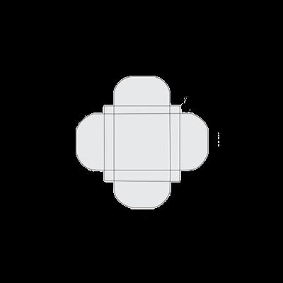 Half Circular Interlocking Template