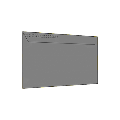 Mailer With Zipper Mockup