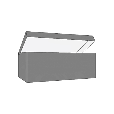 Piece Tray With Reinforced Side Wall Design