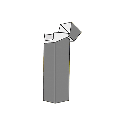 Reinforced Sides With Hinged Top Mockup