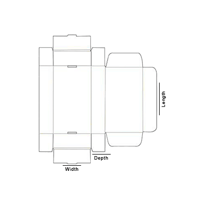 Roll End Tuck Top Template