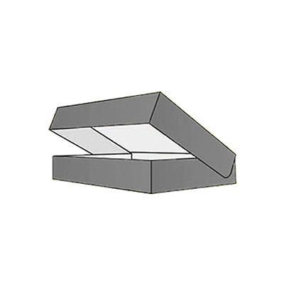 Roll Ends With Lid Mockup