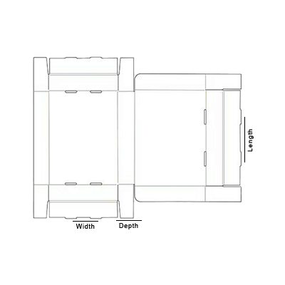Roll Ends With Lid Template