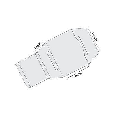 Sleeve With Cap Lock Template