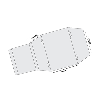 Sleeve With Tapered Side Panel Template